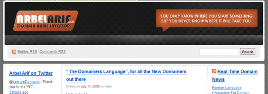 the-domainers-language